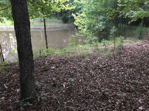 5.001 +/- Wooded Acres, Bartow Co. : Kingston : Bartow County : Georgia