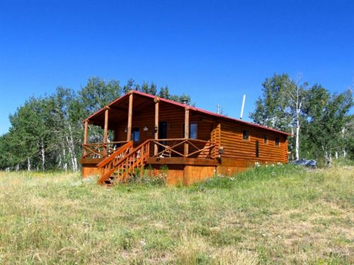 Cabin At Stemp Springs : Savery : Carbon County : Wyoming