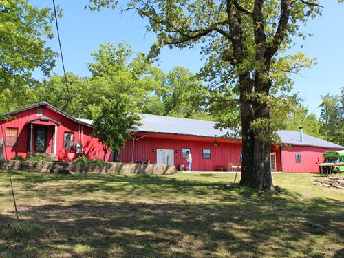 Beautiful Country Home : Westville : Adair County : Oklahoma