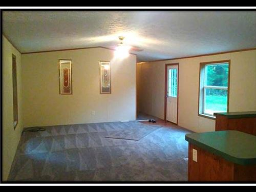 Secluded 5Ac With Single Wide : New Lexington : Perry County : Ohio