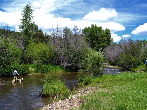 Open Box Z Ranch : Kremmling : Grand County : Colorado