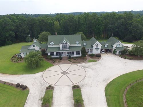 11,000Sf Home On 57+ Acres : Brantley : Crenshaw County : Alabama