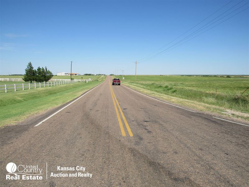 400 Acre Ford County, Kansas Farm : Dodge City : Ford County : Kansas