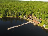Rideout's Lodge On East Grand Lake : Weston : Aroostook County : Maine