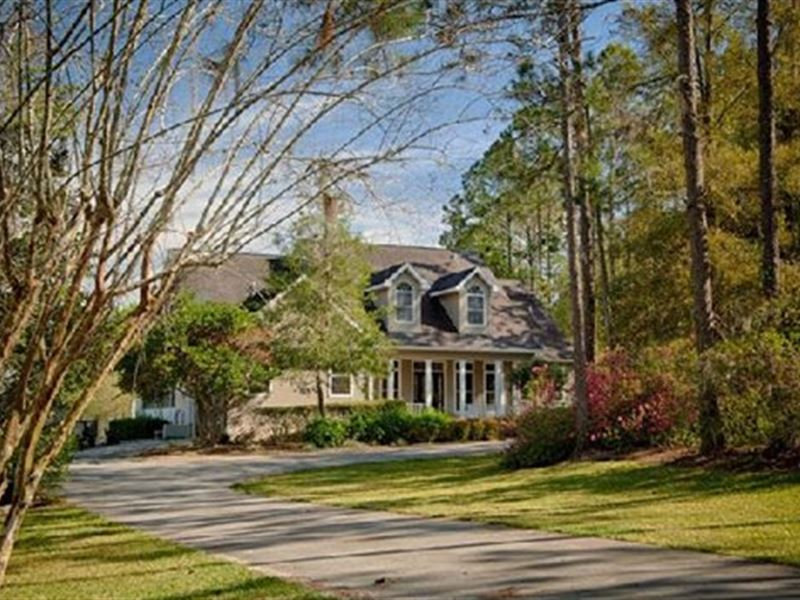 Estate Home With Views : Dade City : Pasco County : Florida