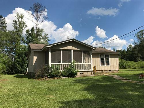 3Bd/2Ba Home On 20.5 Acres : Starkville : Oktibbeha County : Mississippi