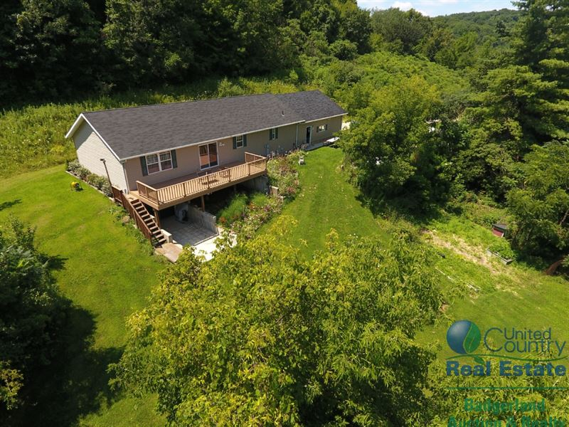 Trophy Deer Hunting Camp In Sw Wi : Gays Mills : Crawford County : Wisconsin