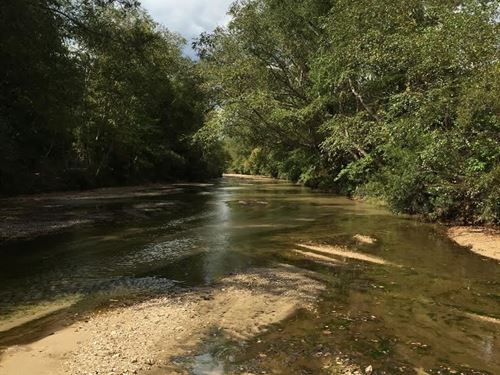 358+/- Ac On Cameron Creek : Roxie : Franklin County : Mississippi