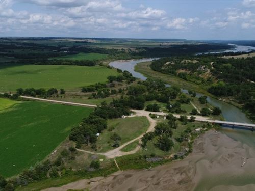 Niobrara National Scenic River&Rsqu : Meadville : Keya Paha County : Nebraska