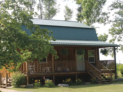 Amish Cabin 182Ac Land & 324Ac Min. : Quinwood : Greenbrier County : West Virginia