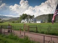 Colorado Irrigated Equestrian Ranch : Canon City : Fremont County : Colorado