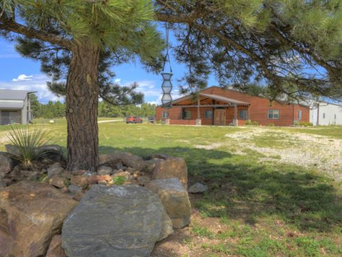 Turn Back Ranch - Equestrian Estate : Westcliffe : Custer County : Colorado