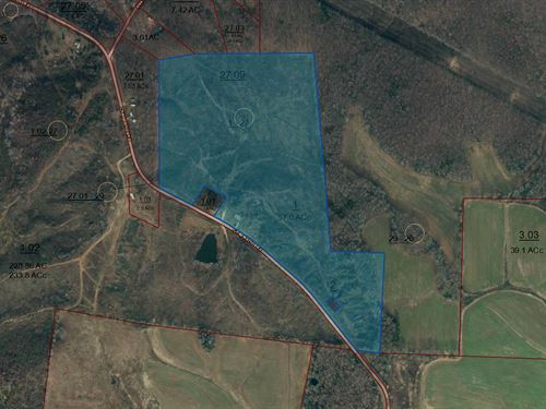 50 +/- Acres In Country : Huntingdon : Carroll County : Tennessee