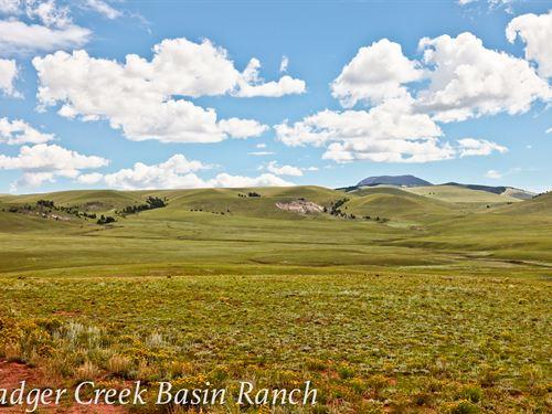 Badger Creek Basin Ranch : Hartsel : Park County : Colorado