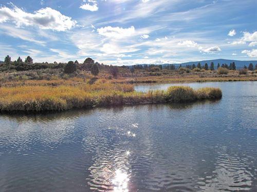 River Front Acreage : Sprague River : Klamath County : Oregon