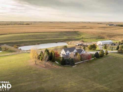South Central Nebraska Horse Farm : Henderson : Hamilton County : Nebraska