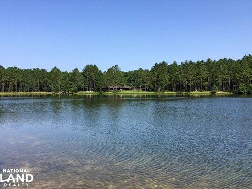 Jeff Hamilton Lake & Home Tract B : Mobile : Alabama