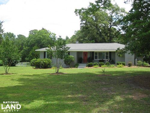 Devil's Backbone Road Home And Land : Leesville : Lexington County : South Carolina