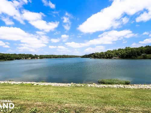 Tanglewood Lake Lots & Acreage : La Cygne : Linn County : Kansas