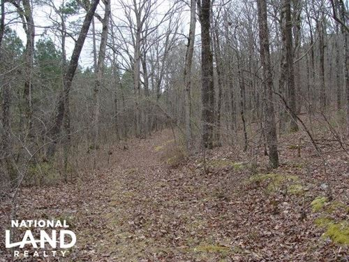 40 Acres, Hunting Timberland : Pearcy : Hot Spring County : Arkansas