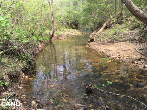 Sweet Water Creek Tract : Daviston : Tallapoosa County : Alabama
