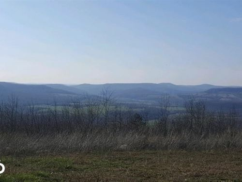 115 Acres Ozark Mountain Views : Compton : Carroll County : Arkansas