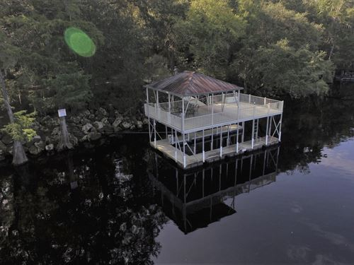 Suwannee River - 134 Acres : Bell : Gilchrist County : Florida