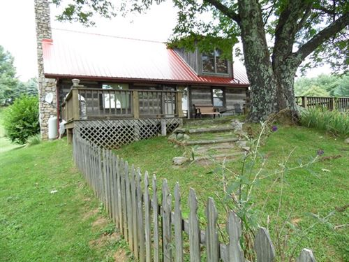 Cabin On 5 Acres In The Blue Ridge : Independence : Grayson County : Virginia