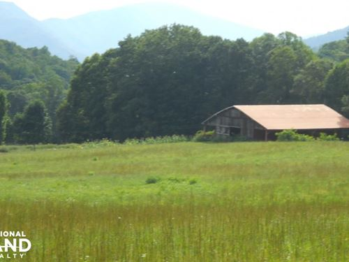 Reduced, Spectacular Farmland Adjac : Green Mountain : Mitchell County : North Carolina
