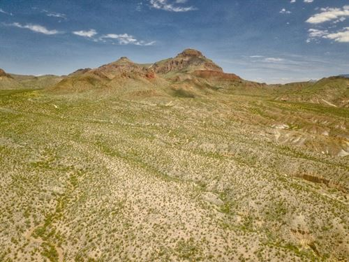 Scenic 80 Acres : Terlingua : Brewster County : Texas