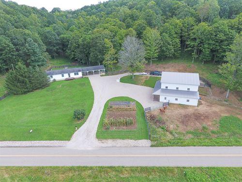 Cora Mill Rd - 37 Acres : Gallipolis : Gallia County : Ohio