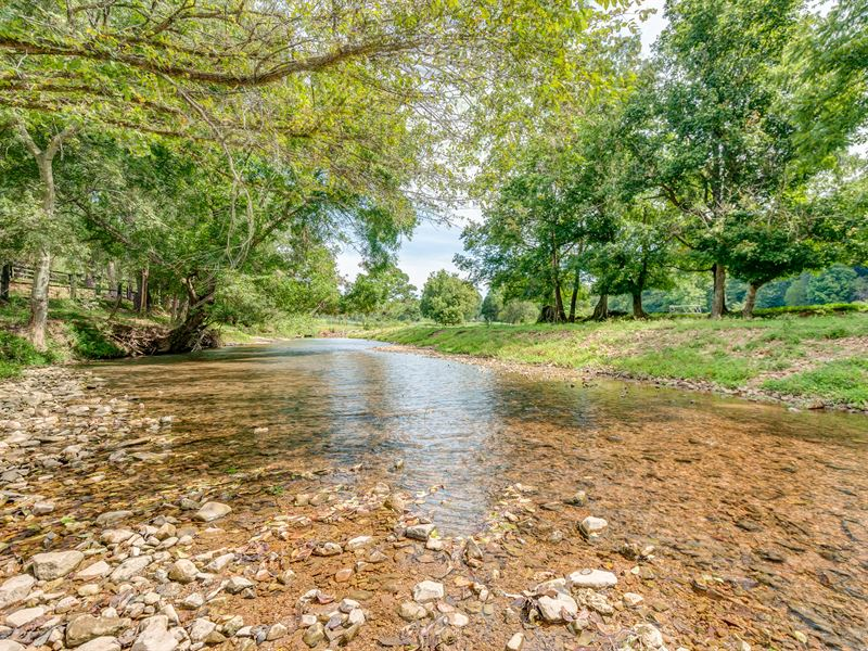 206 Acre Farm Near Kentucky Lake : Waverly : Humphreys County : Tennessee