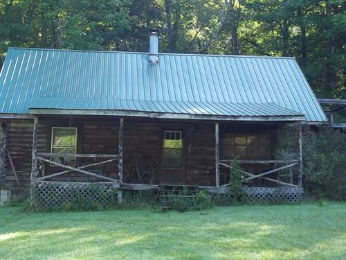 Log Cabin On 8 Acres In Metcalfe Ky : Edmonton : Metcalfe County : Kentucky