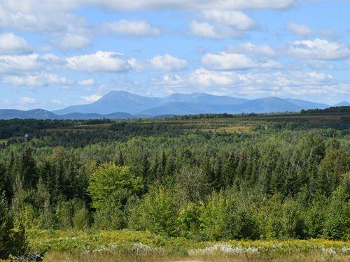 Mt. Katahdin Views & Acreage : Patten : Penobscot County : Maine