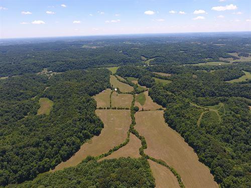 North Maury County Farm : Santa Fe : Maury County : Tennessee