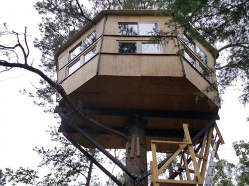 Treehouse - Zip Line - Hunting : Clayton : Pushmataha County : Oklahoma