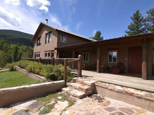 Bison Peaks Lodge : Lake George : Park County : Colorado