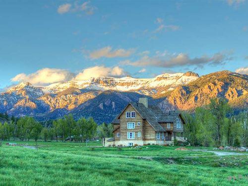 Mountain Spirit On The Navajo : Chromo : Archuleta County : Colorado