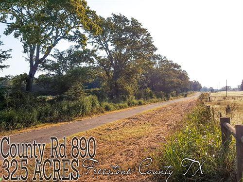 32.50 Acres In Freestone County : Teague : Freestone County : Texas