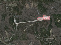 Wooded Undeveloped Lot : Juliette : Monroe County : Georgia