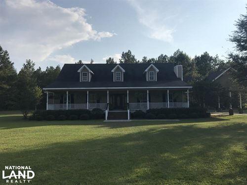Rock Springs 25 Acre Recreational : Varnville : Hampton County : South Carolina