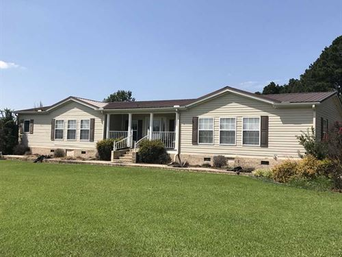 Large Home on Beautiful 224 Acres : Rison : Cleveland County : Arkansas