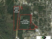 Tract 1, 52 Acres of Prime Comme : Philadelphia : Neshoba County : Mississippi
