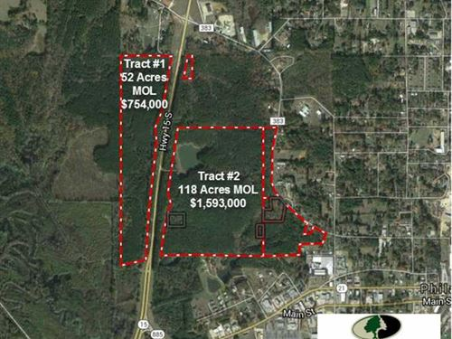 Tract 1, 52 Acres of Prime Comme : Philadelphia : Neshoba County : Mississippi