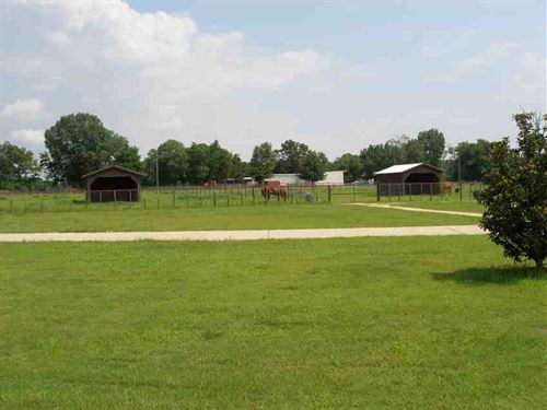 Horse Training Ranch For Sale in : Prairie : Monroe County : Mississippi