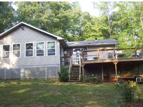 Nice Home on Wooded Acreage in Woo : Woodbury : Meriwether County : Georgia