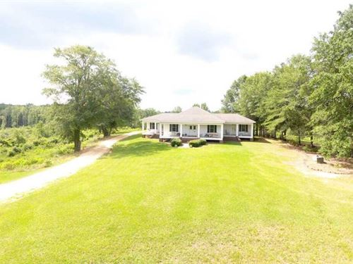 155 Acres And Home Located on Pric : Gordo : Pickens County : Alabama