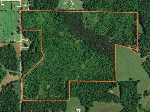 Recreational, Timber & Development : Ecru : Pontotoc County : Mississippi