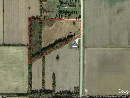 20 Acres For Sale in Butler County : Neelyville : Butler County : Missouri