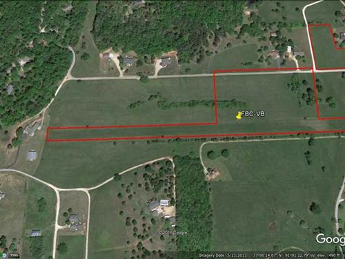 11 Acres For Sale in Van Buren, Mi : Van Buren : Carter County : Missouri